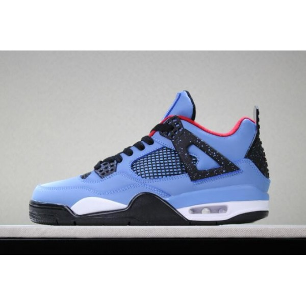 Men Travis Scott x Air Jordan 4 Houston Oilers 308497-406