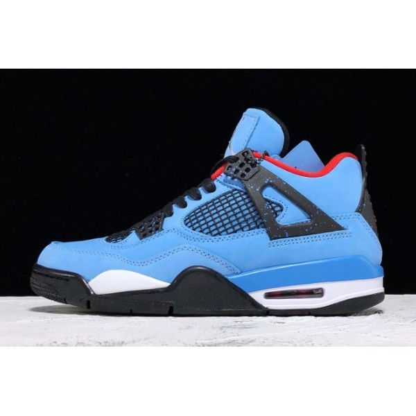 Men Mens Travis Scott x Air Jordan 4 Houston Oilers