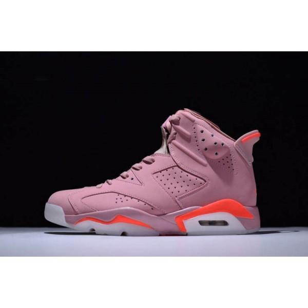 Men/Women Air Jordan 6 Retro Millennial Pink