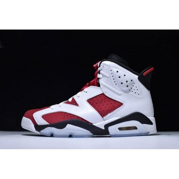 Men/Women Air Jordan 6 Retro Carmine White Carmine-Black Brand