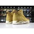 Men/Women Air Jordan 6 Wheat Golden Harvest Elemental Gold