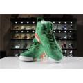 Men/Women Air Jordan 6 Gatorade In Green Suede