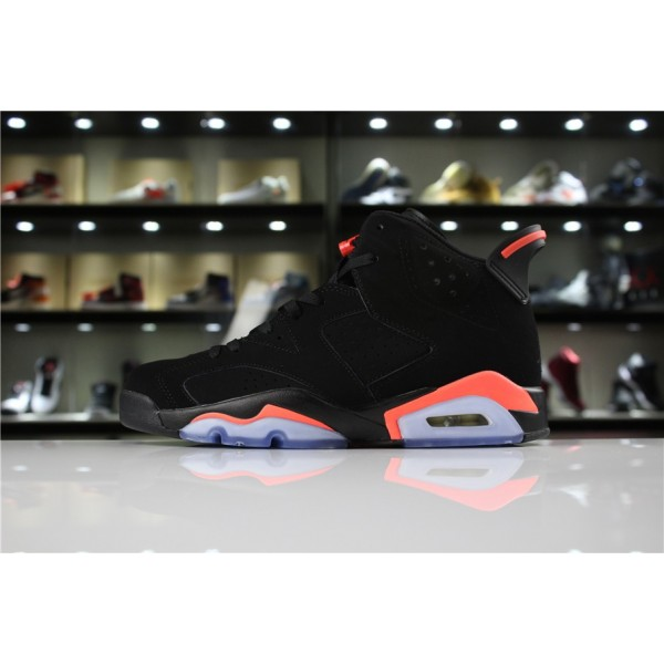 Men/Women Air Jordan 6 Retro Black Infrared 23
