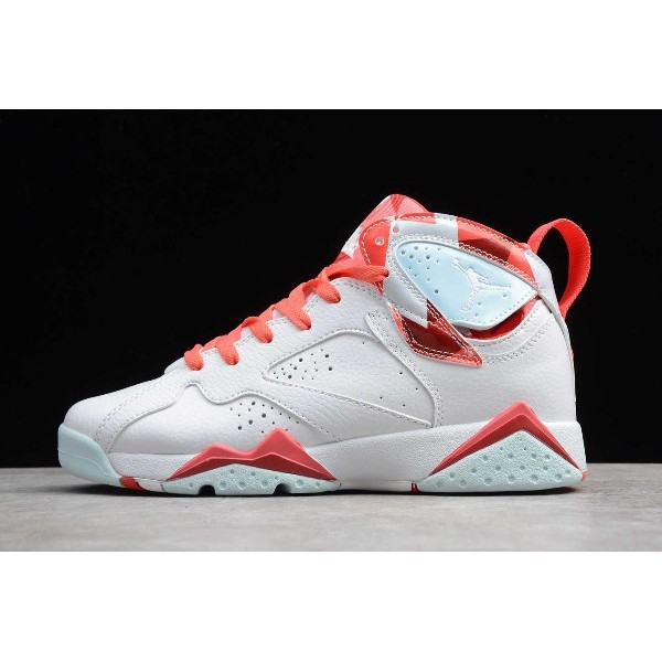 Women Air Jordan 7 GS Topaz Mist