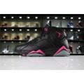 Men/Women Air Jordan 7 Hyper Pink Black Hyper Pink
