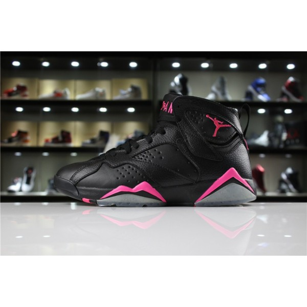 Men/Women Air Jordan 7 Hyper Pink Black Hyper Pink