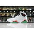 Men/Women Air Jordan 7 Retro Verde White Black Verde Infrared 23