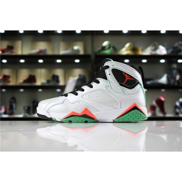 Men/Women Air Jordan 7 Retro Verde White Black Verde Infrared 23
