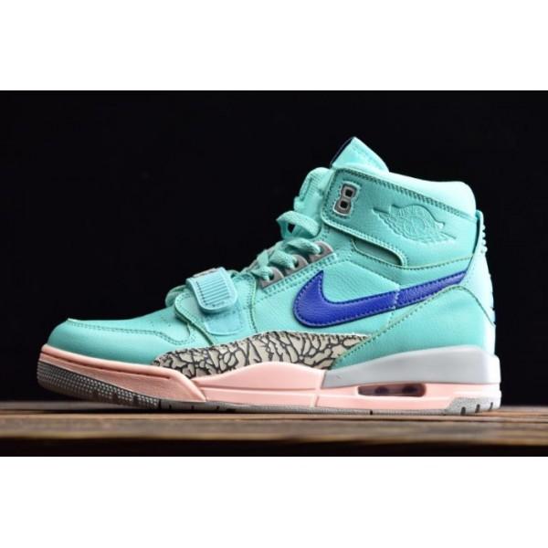 Men Jordan Legacy 312 Hyper Jade Bright Blue
