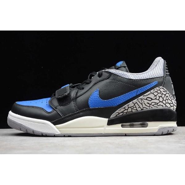 Men/Women Jordan Legacy 312 Low Royal Black Blue