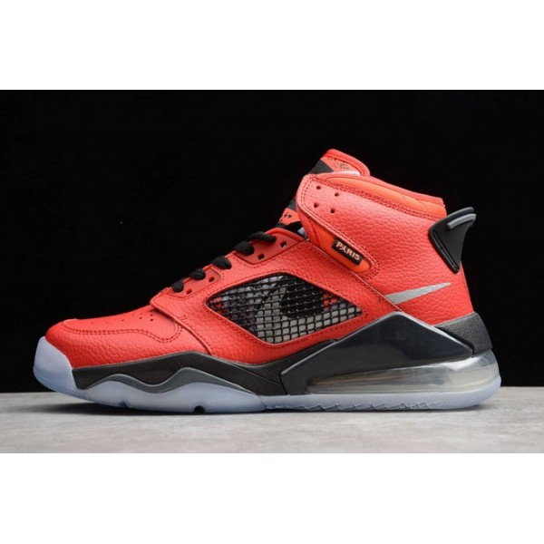 Men PSG x Jordan Mars 270 Infrared 23 Reflect Silver-Black