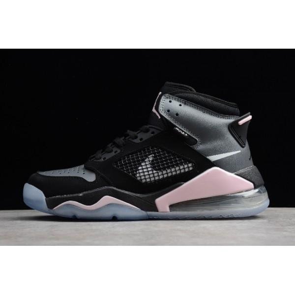 Men Jordan Mars 270 Black Grey Hyper Pink