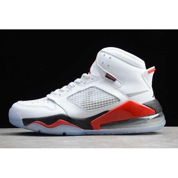 Men New Jordan Mars 270 Fire Red