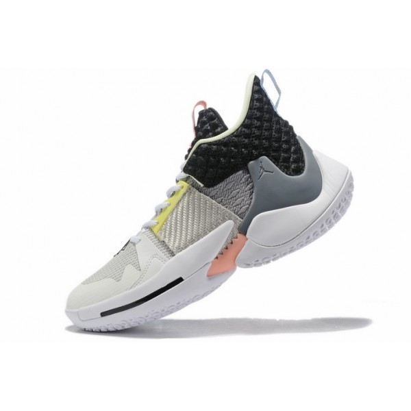 Men Jordan Why Not Zer0.2 Khelcey Barrs Grey Gunsmoke