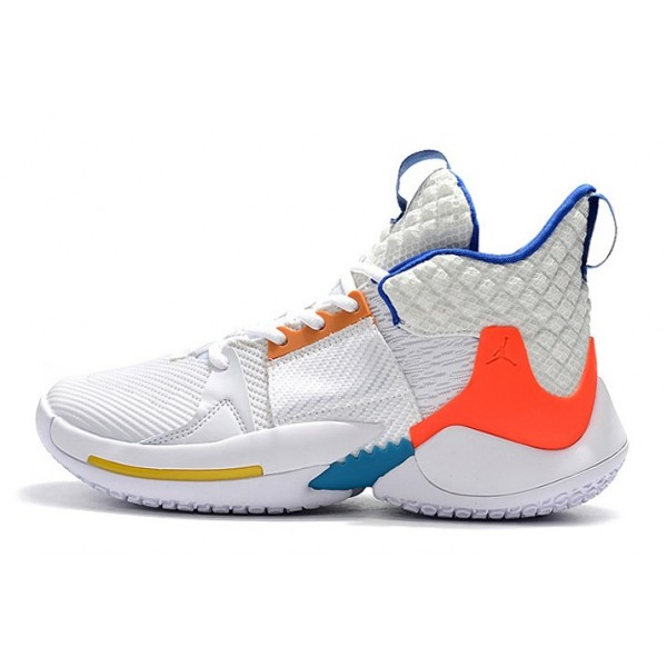 Men Jordan Why Not Zer0.2 OKC Home White Blue
