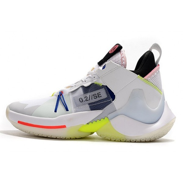 Men Jordan Why Not Zer0.2 SE PF White Ghost Aqua-Hyper