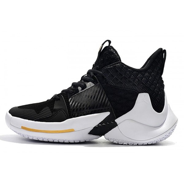 Men Jordan Why Not Zer0.2 The Family Black White