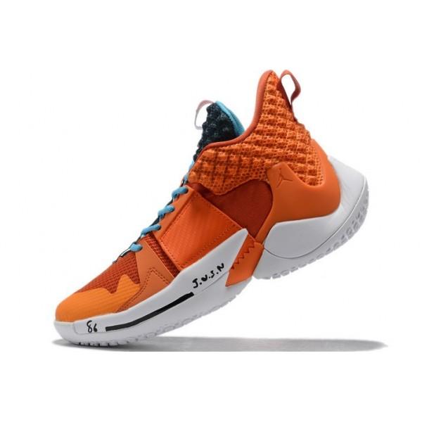 Women Jordan Why Not Zer0.2 Orange Blue White