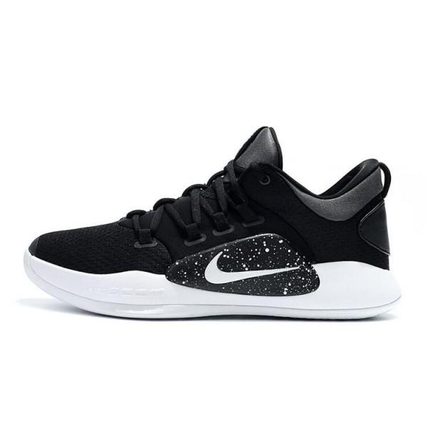 Men 2018 Nike Hyperdunk X Low EP Oreo Black-White