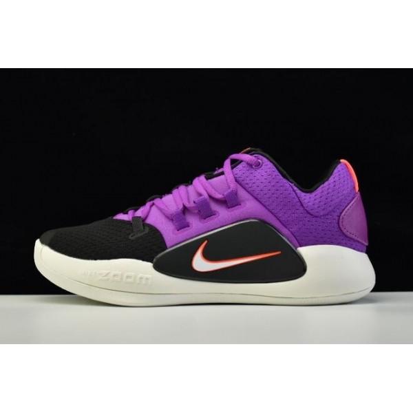 Men 2018 Nike Hyperdunk X Low EP Purple-Black-White