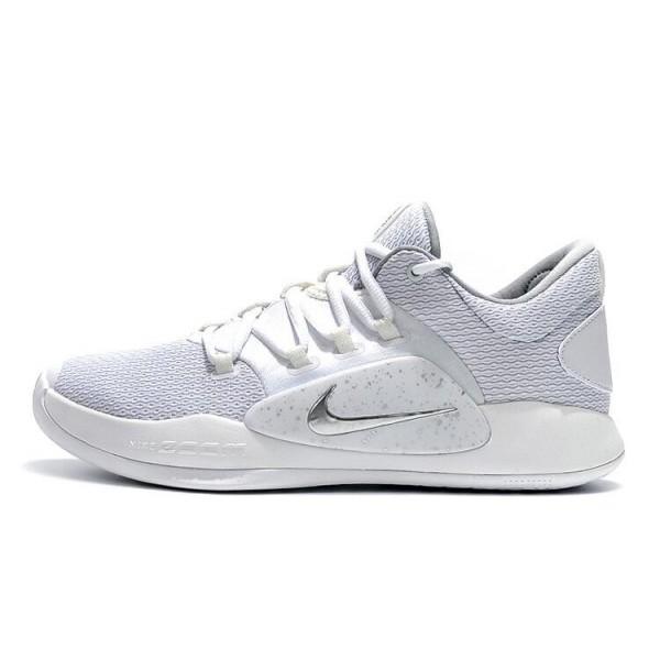 Men 2018 Nike Hyperdunk X Low EP White-Pure Platinum