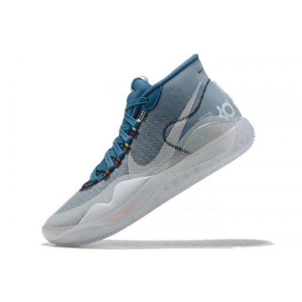 Men Nike KD 12 Sky Blue Black-White Shoes