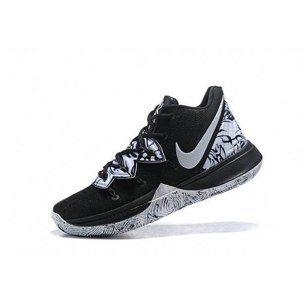 Men Nike Kyrie 5 BHM Black White