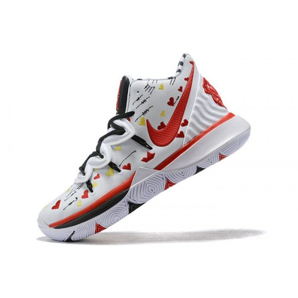 Men Sneaker Room x Nike Kyrie 5 White Multi-Color