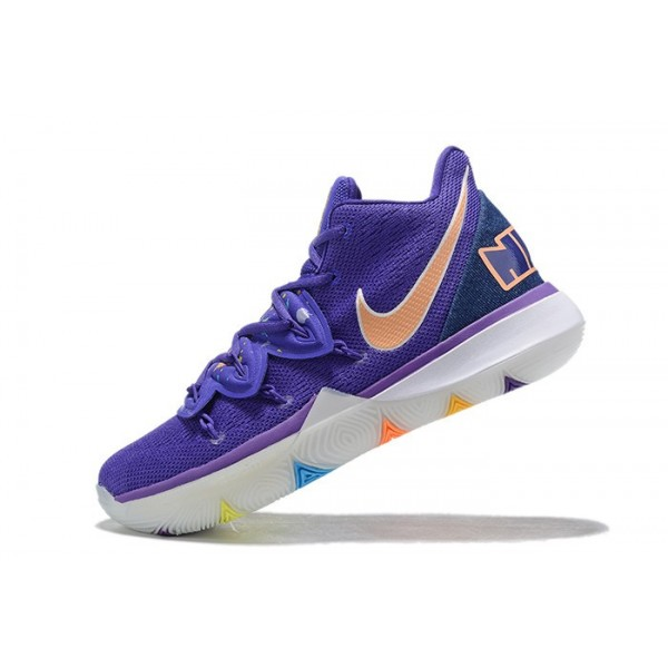 Men Have A Nike Day Nike Kyrie 5 Blue Purple