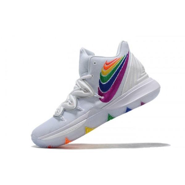 Men Nike Kyrie 5 Rainbow Multi-Color