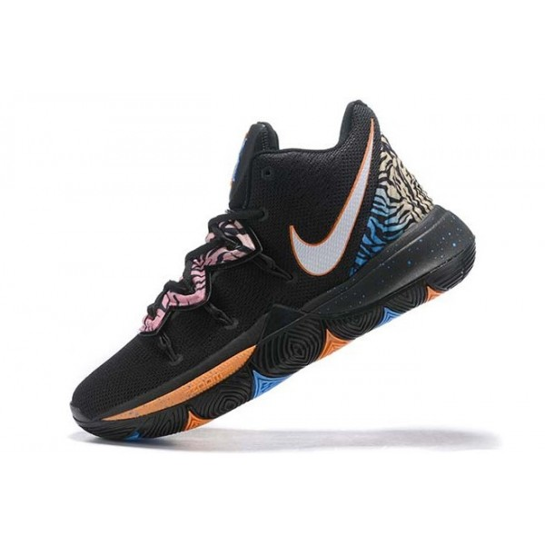 Men Nike Kyrie 5 Tiger Black Multi-Color
