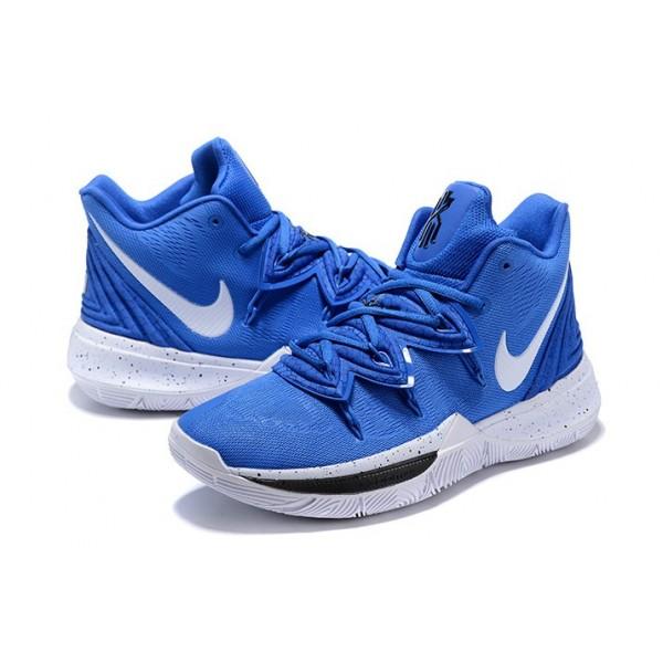 Men Nike Kyrie 5 Blue Devils Blue-White