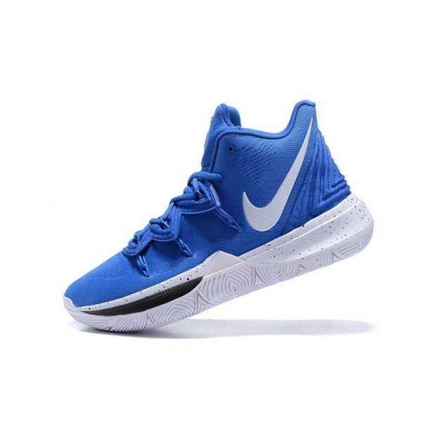 Men Nike Kyrie 5 Blue Devils Blue-White-Black