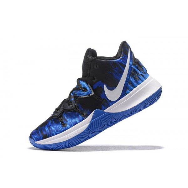 Men Nike Kyrie 5 Duke Game Royal-Black