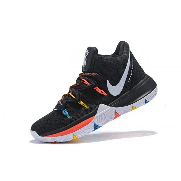 Men Nike Kyrie 5 Friends PE Black-Multicolor