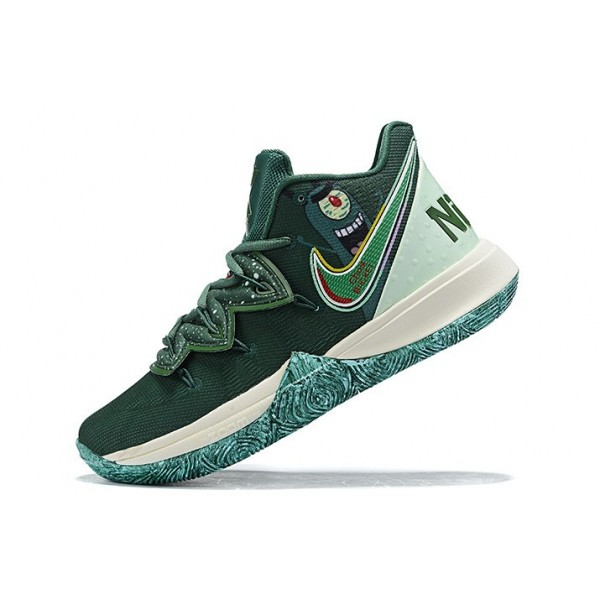 Men Nike Kyrie 5 Green Sail Blue
