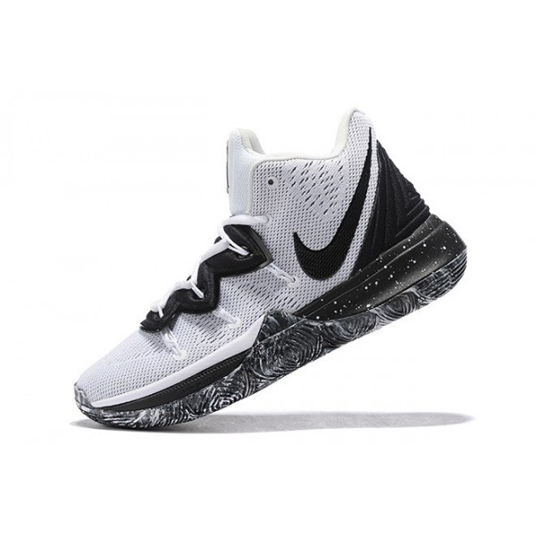 Men Nike Kyrie 5 Oreo White-Black
