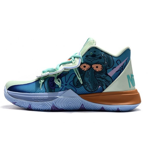 Men Nike Kyrie 5 Shoes SpongeBob Green-Multi-Color