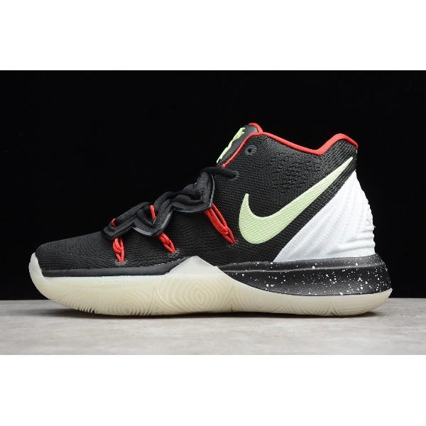 Men Nike Kyrie 5 Uncle Drew Black White Red