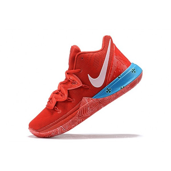 Men Nike Kyrie 5 University Red-Blue-Pink