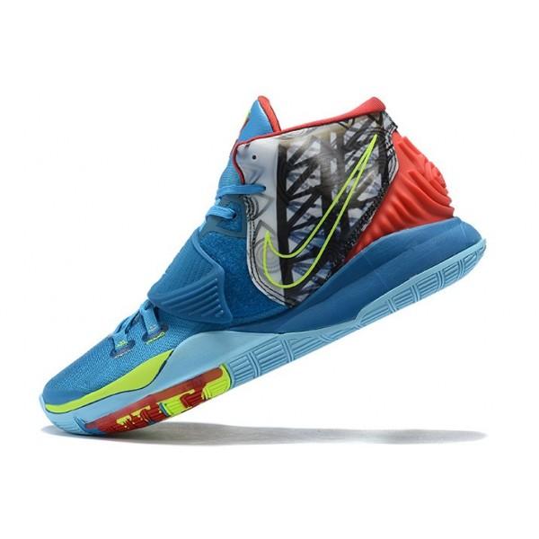 Men Nike Kyrie 6 Royal Blue-Multi-Color