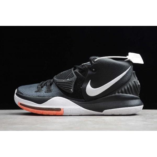 Men Now Nike Kyrie 6 EP Black White Orange