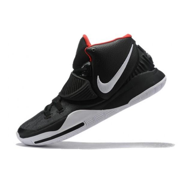 Men New Nike Kyrie 6 Black-White-Varsity Red