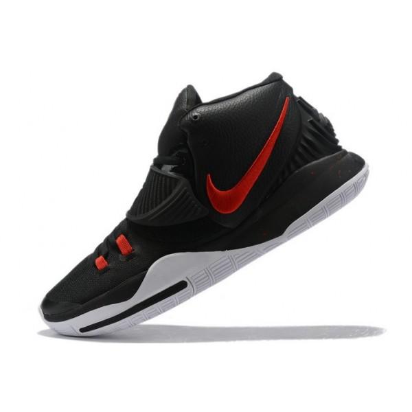 Men Nike Kyrie 6 Black-University Red-White
