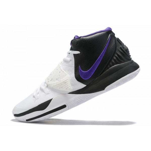 Men Nike Kyrie 6 Black-White-Purple