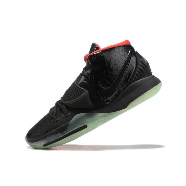 Men Nike Kyrie 6 Yeezy Black-Solar Red