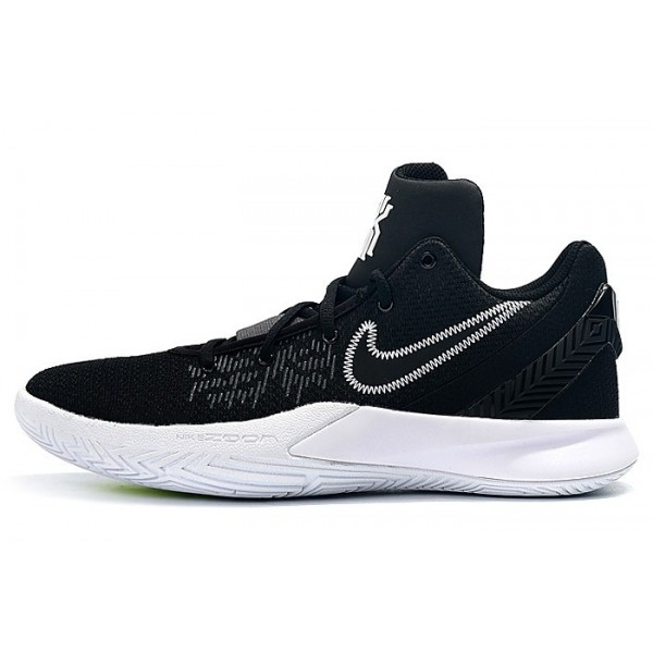 Men New Release Nike Kyrie Flytrap 2 Black White