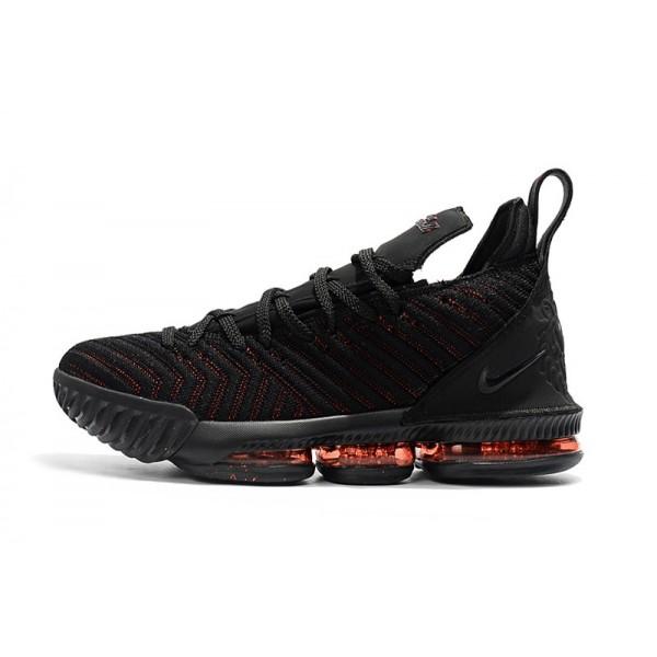 2018 Nike LeBron James 16 Bred Black
