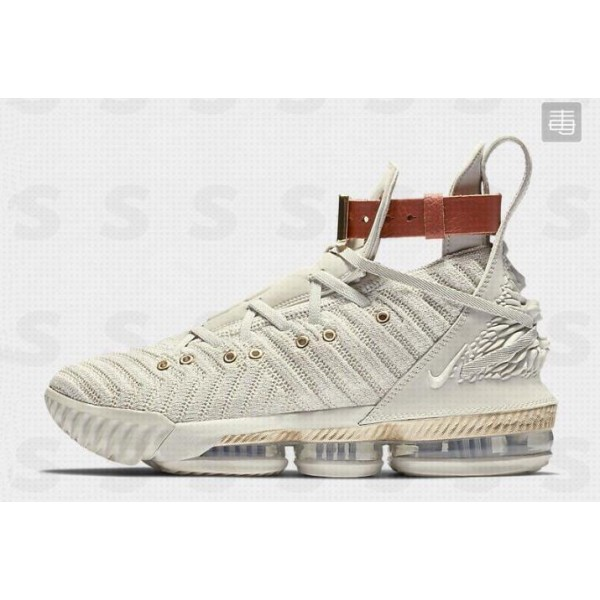 Men 2018 Nike LeBron 16 HFR Sail-White-Light Bone