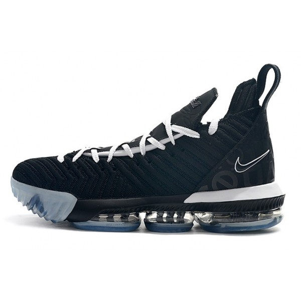 Men 2019 Nike LeBron 16 Equality Home Black White